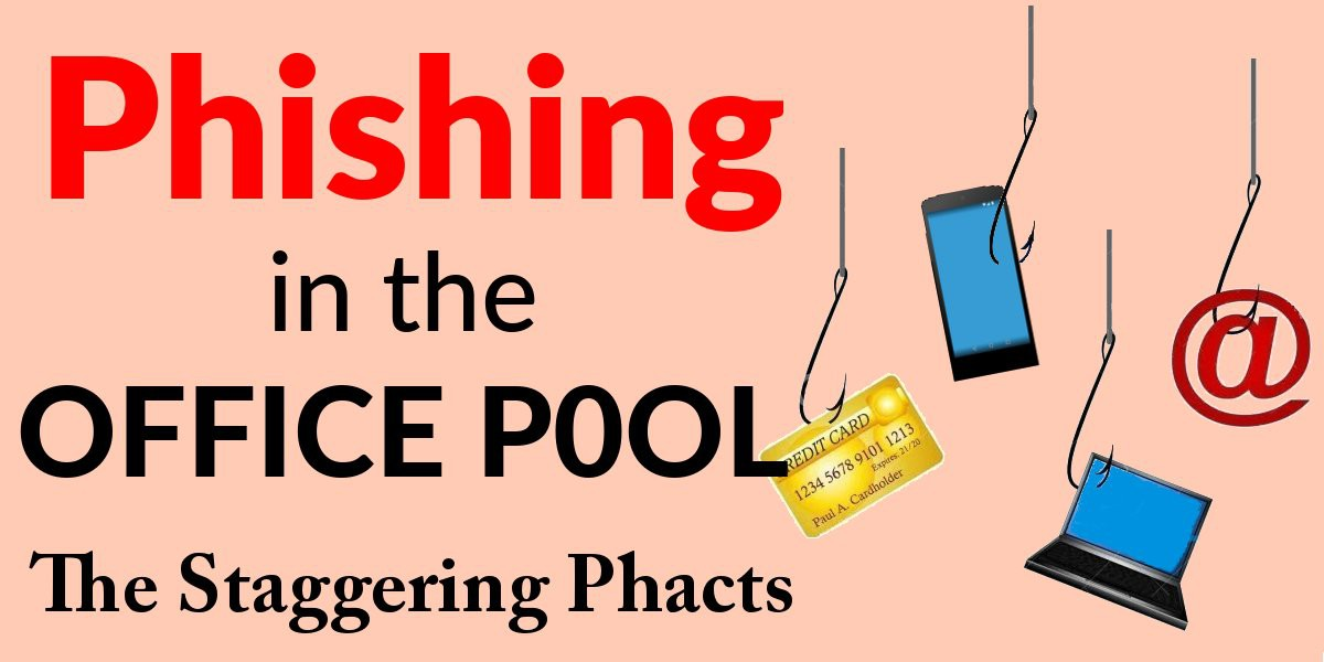 Phishing in the Office Pool. Some staggering facts on phishing, your employees, and corporate risk