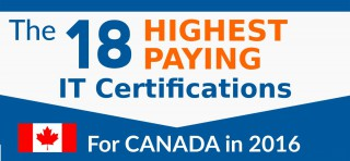 The 18 Highest Paying IT Industry Certifications in 2016 – Canadian Edition
